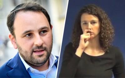 Freilich (N-VA) stoort zich aan teken voor jood in Vlaamse gebarentaal