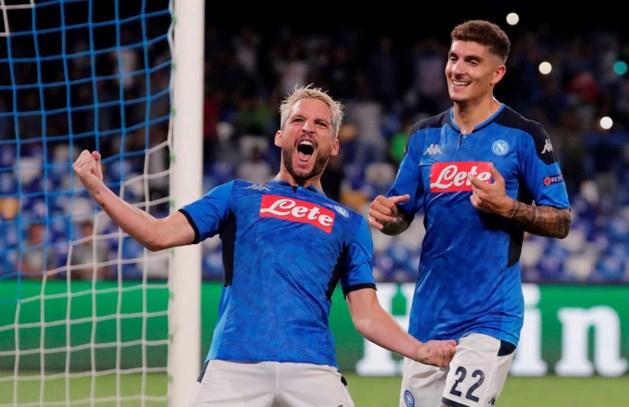 Dries Mertens trapt Napoli voorbij Liverpool, Witsel en Hazard laten na Barcelona te kloppen