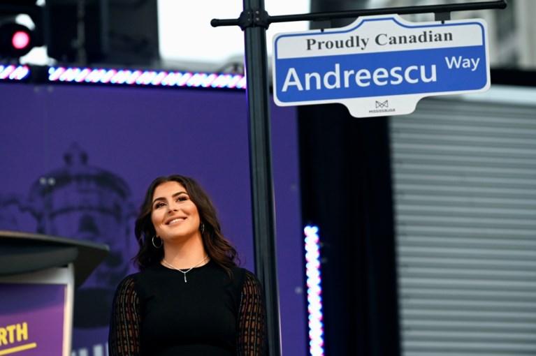 Andreescu krijgt na winst US Open eigen straat in geboortestad