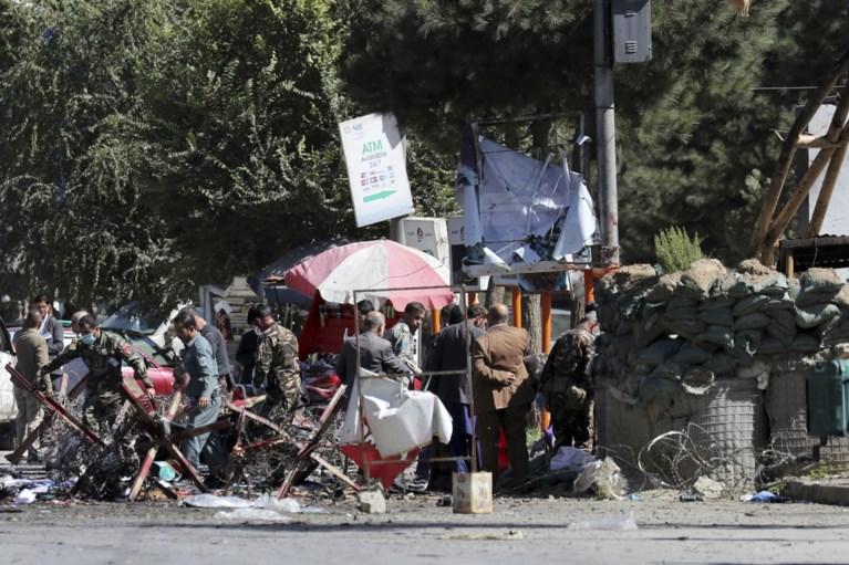 Ruim twintig doden bij zelfmoordaanslag in Kaboel