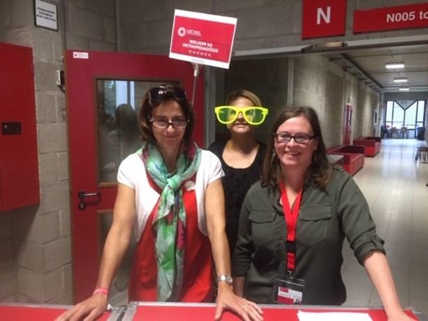 Studenten orthopedagogie bekijken het leven door een andere bril