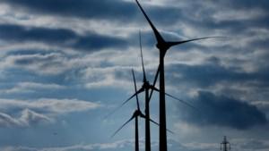 Orkaan raast door Duitse windsector