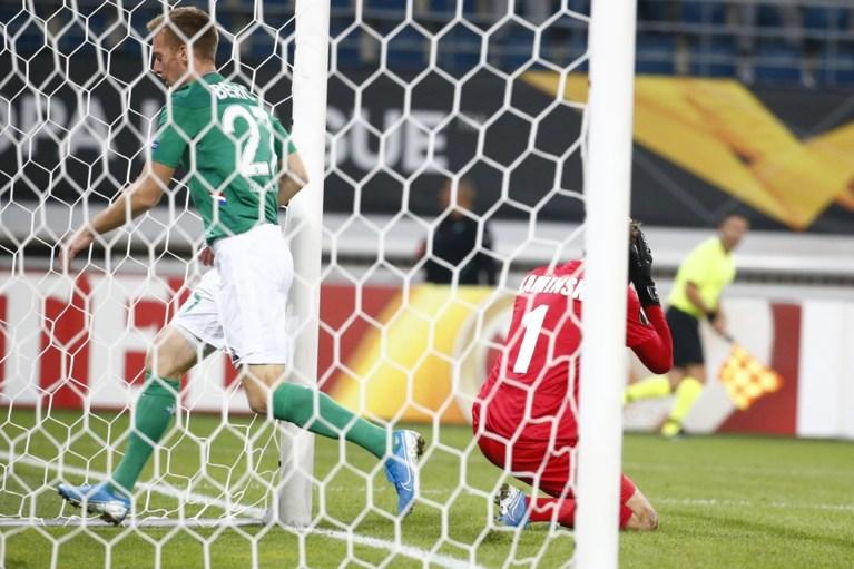 AA Gent sleept zich na kolossale blunder van Kaminski toch voorbij Saint-Etienne in de Europa League