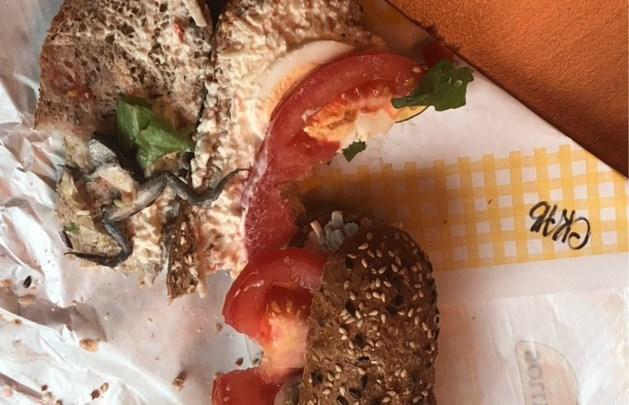 """Vrouw vindt kikker in Panos-broodje: """"Horror. Jullie hebben wat uit te leggen"""""""
