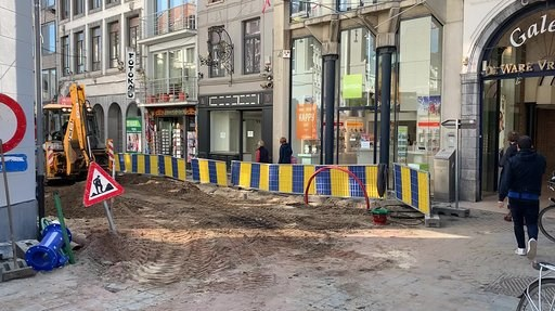Hasseltse Grote Markt wordt vanaf maandag helemaal opgebroken