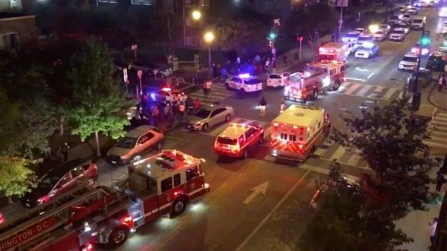 Zes mensen neergeschoten in Washington DC, één dode
