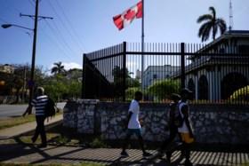 Amerikaanse en Canadese diplomaten in Havana waren mogelijk ziek door pesticiden