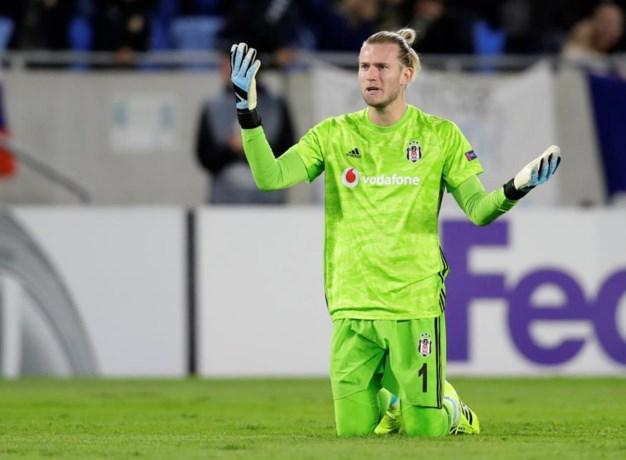 Loris Karius doet het opnieuw: doelman blundert voor Besiktas in Europa League