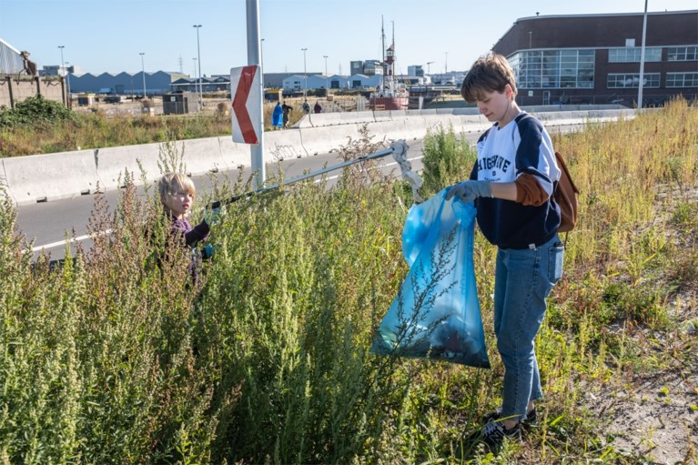Vrijwilligers ruimen 60 ton afval op tijdens River Cleanup in België