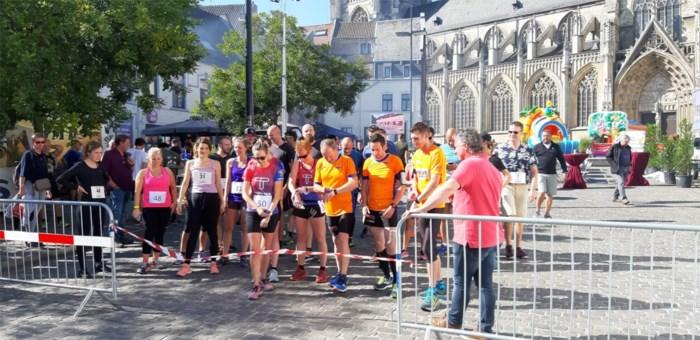 Biathlon op Vrijthof in Tongeren