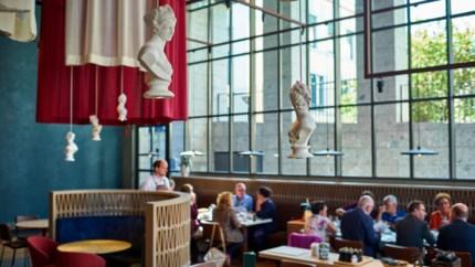 Hedendaags Romeins eten in museum