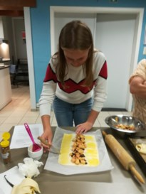 Ook jeugd kookt bij KVLV Binderveld