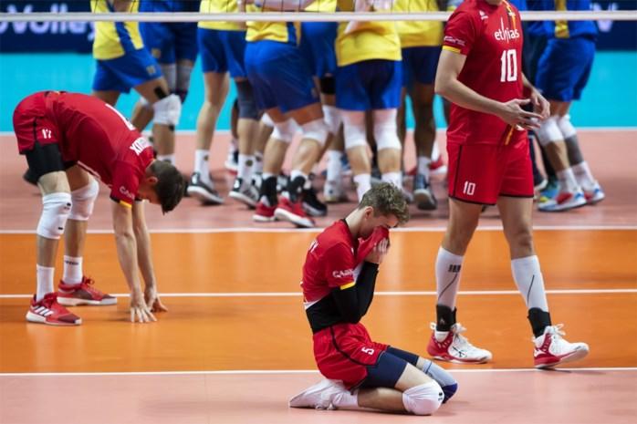 Red Dragons verrassend uitgeschakeld in achtste finales op EK volleybal