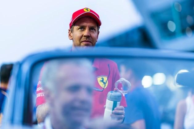 Sebastian Vettel tijdens GP van Singapore verkozen tot 'Driver of The Day'