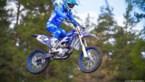 Strijbos op Wilvo-motor op Motorcross der Naties