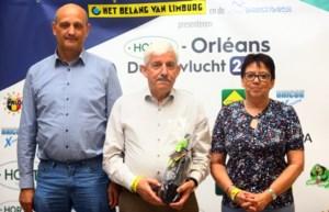 Familie Noelmans-Hellinx heeft de snelste Orléansduif van Hoeselt