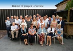 Reünie 70-jarigen van Gruitrode