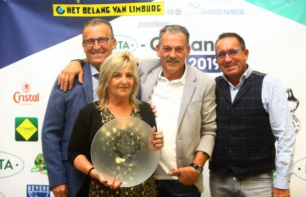 Helena Vanlingen heeft de snelste Orléansduif van Zonhoven