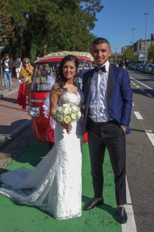 Santina en Aydin in Genk