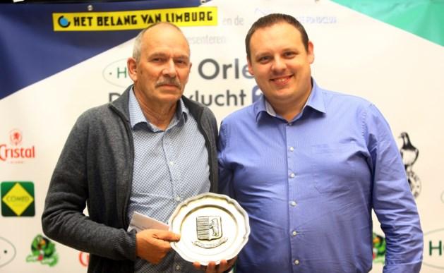 François Custers heeft de snelste Orléansduif van Beringen