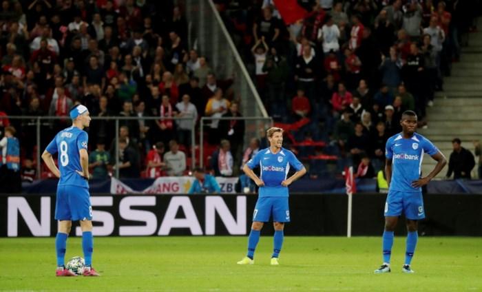 Slachtpartij in Salzburg: KRC Genk opnieuw met de billen bloot in de Champions League