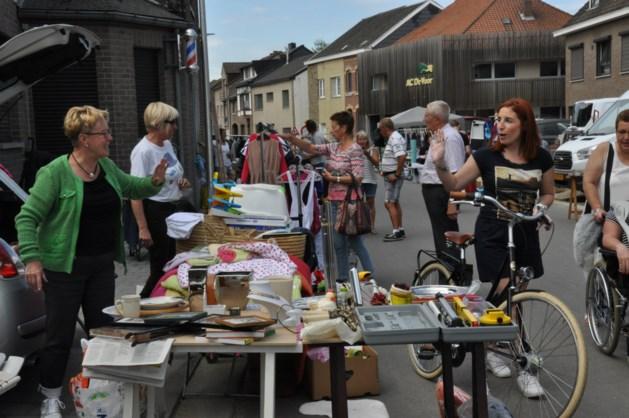 Zonnige brocantemarkt in 's-Gravenvoeren