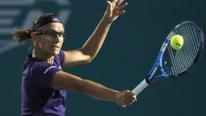 Kirsten Flipkens raakt niet voorbij eerste ronde in Tasjkent