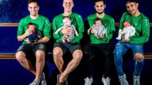 Babyboom bij Heusden 06: vier spelers werden dit seizoen al papa en er is nog tweeling op komst