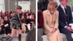 Mannelijk model trekt aandacht van Anna Wintour met vreemd loopje op catwalk