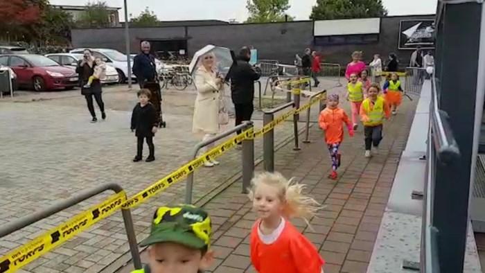 850 kinderen lopen Funtrail in Kortessem