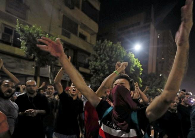 Tweeduizend arrestaties bij betogingen in Egypte