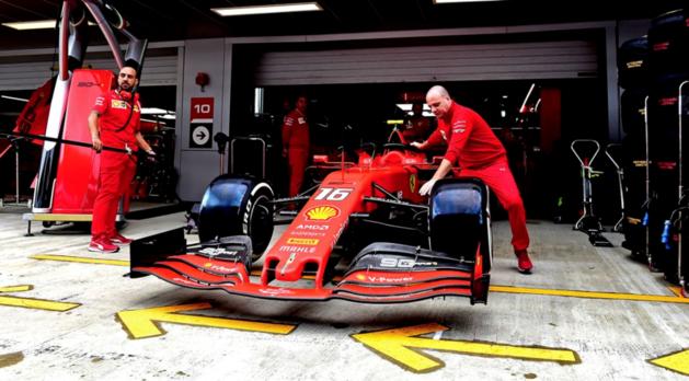 Charles Leclerc sneller dan Max Verstappen tijdens eerste oefensessie GP van Rusland