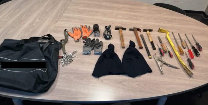 Politie arresteert drie inbrekers in Sint-Truiden
