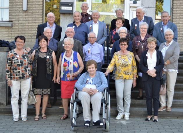 80-jarigen feesten in Neeroeteren
