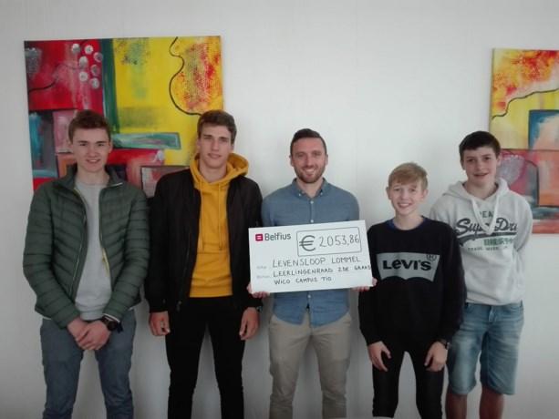 Leerlingenraad van WICO Campus TIO doneert 2000 euro aan Levensloop