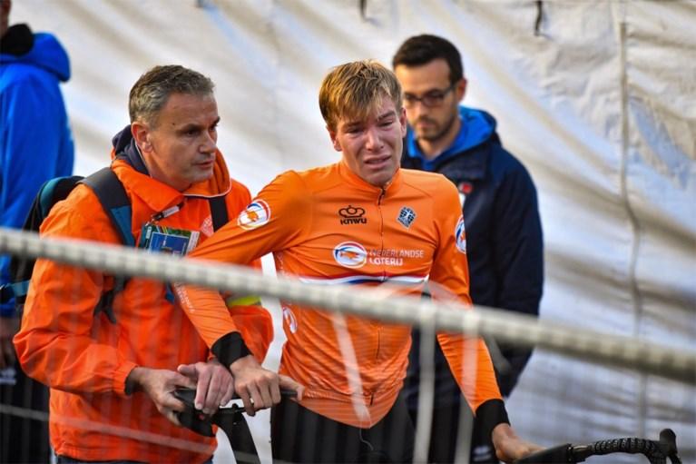 """Omstreden diskwalificatie op WK wielrennen zindert na, Nils Eekhoff zelf reageert: """"De beste 15 minuten van mijn leven"""""""