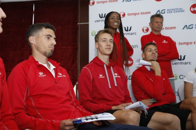 Dylan Borlée krijgt op WK atletiek in gemengde 4x400m voorkeur op Kevin Borlée als slotloper