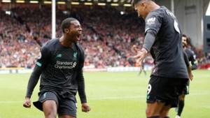 Liverpool behoudt perfect rapport na moeizame zege, Origi valt in