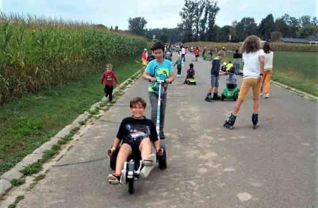 Meer dan 200 kinderen nemen deel aan strapdag