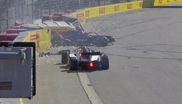 VIDEO: Formule 2 opnieuw opgeschrikt door zeer zware crash