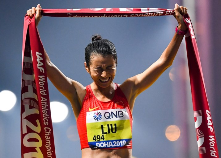 Chinese vrouwen domineren 20 km snelwandelen op WK atletiek