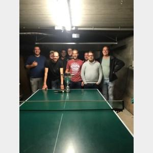 Eerste editie tafeltennistoernooi 'Kapelcup'