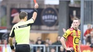 KV Mechelen-speler Rob Schoofs krijgt twee speeldagen effectieve schorsing na rode kaart tegen Club Brugge