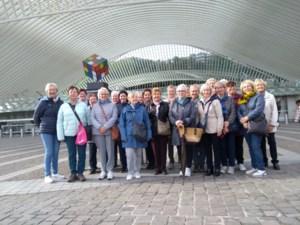 Femma Opglabbeek bezoekt Luik-Guillemins