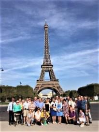 Okra Linde-Wauberg drie dagen naar Parijs