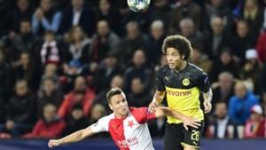 Axel Witsel en Thorgan Hazard pakken met Borussia Dortmund drie punten in Praag