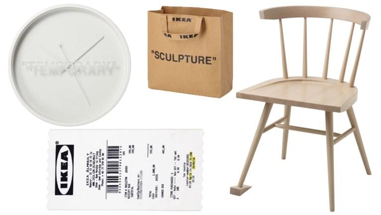 Collectie van Virgil Abloh vanaf november te koop bij Ikea