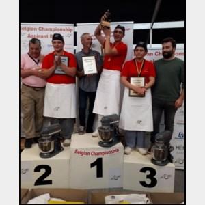 Danilo Deiana is Belgisch kampioen aspirant bakker 2019