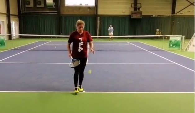 Kim Clijsters werkt volop aan comeback op eigen Academy