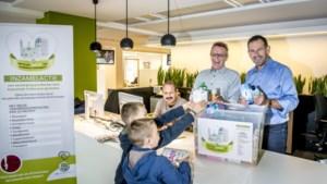 CM Limburg verzamelt pampers en tandpasta voor kansarme gezinnen